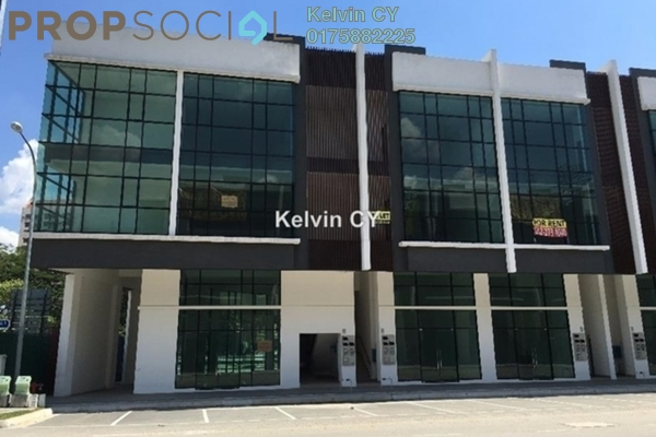 For Rent Shop at Pusat Komersial Sinar Sentul, Sentul Freehold Unfurnished 0R/0B 7.5k