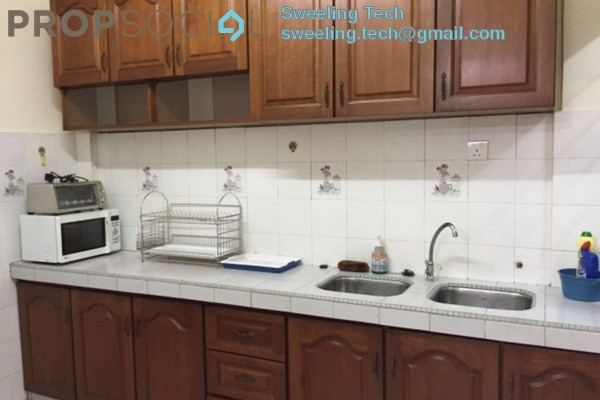 For Rent Apartment at Sunway Court, Bandar Sunway Leasehold Semi Furnished 3R/2B 1.8k