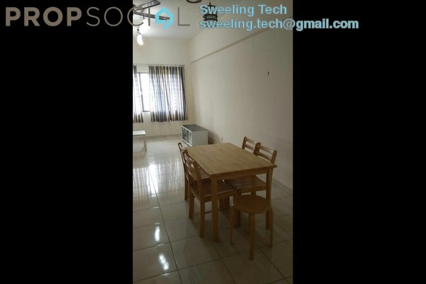 For Rent Condominium at Lagoon Perdana, Bandar Sunway Leasehold Semi Furnished 2R/2B 1.7千