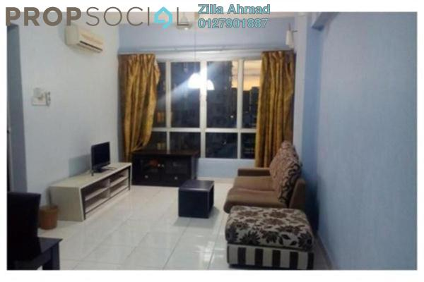 For Rent Apartment at e-Tiara, Subang Jaya Freehold Fully Furnished 2R/1B 1.6k