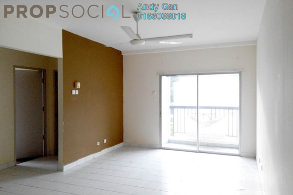 For Rent Apartment at Crystal Tower, Ampang Leasehold Semi Furnished 3R/2B 1.3k