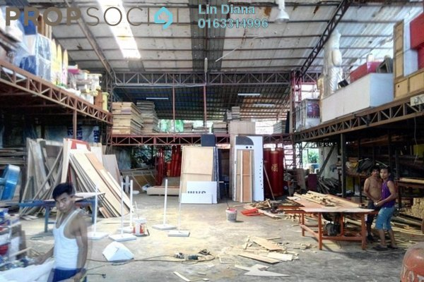 For Sale Factory at Taman Ehsan Industrial Park, Kepong Leasehold Semi Furnished 8R/8B 19m