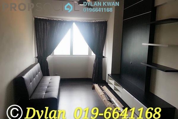 For Rent Serviced Residence at Main Place Residence, UEP Subang Jaya Freehold Semi Furnished 2R/1B 1.2k