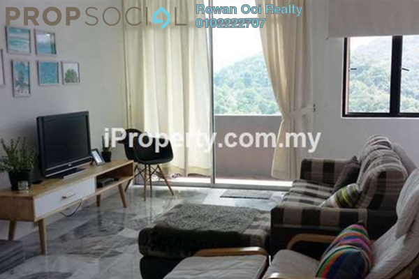 For Rent Townhouse at Pearl Hill Villa, Tanjung Bungah Freehold Semi Furnished 3R/2B 2.4k