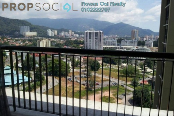 For Rent Condominium at Platino, Gelugor Freehold Semi Furnished 4R/2B 3.5k