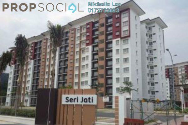 For Rent Apartment at Seri Jati Apartment, Setia Alam Leasehold Unfurnished 3R/2B 850translationmissing:en.pricing.unit