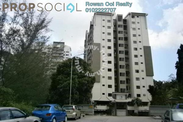 For Sale Serviced Residence at Lakeside Tower, Bukit Jambul Leasehold Semi Furnished 3R/2B 520k