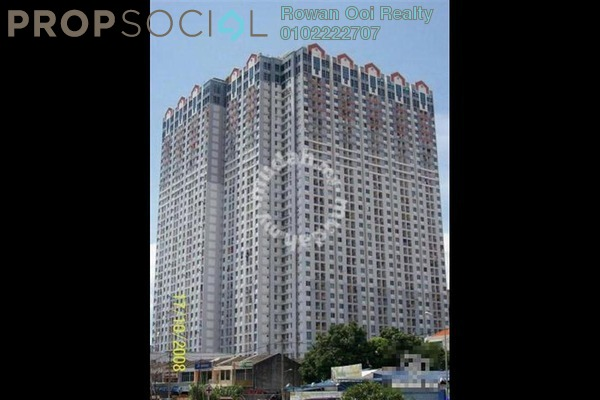 For Sale Serviced Residence at BJ Court, Bukit Jambul Freehold Semi Furnished 2R/1B 128k