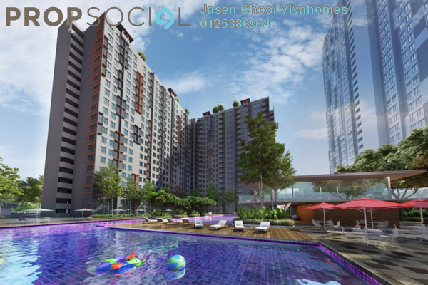 For Sale Serviced Residence at Vega Suites @ Selayang Star City, Selayang Leasehold Unfurnished 1R/1B 353k