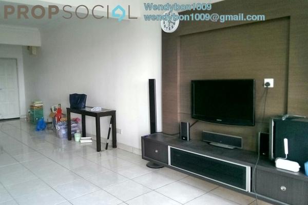 For Sale Condominium at Aseana Puteri, Bandar Puteri Puchong Freehold Semi Furnished 3R/2B 600k