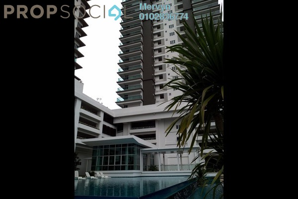 For Rent Condominium at Rimba Residence, Bandar Kinrara Freehold Semi Furnished 3R/2B 1.69k