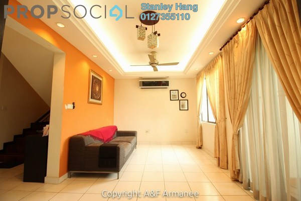 For Sale Condominium at Armanee Condominium, Damansara Damai Leasehold Semi Furnished 3R/3B 580k