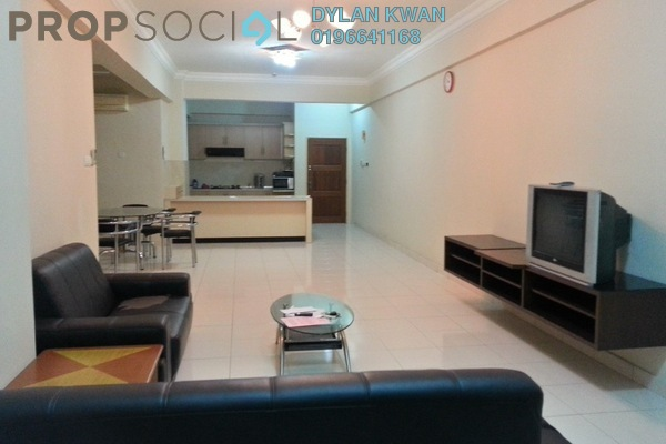 For Rent Condominium at Hartamas Regency 1, Dutamas Freehold Fully Furnished 4R/3B 3.65k