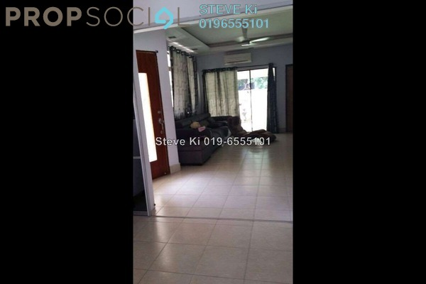 For Sale Terrace at Sri Damai, Bukit Rimau Freehold Semi Furnished 4R/3B 1.3m