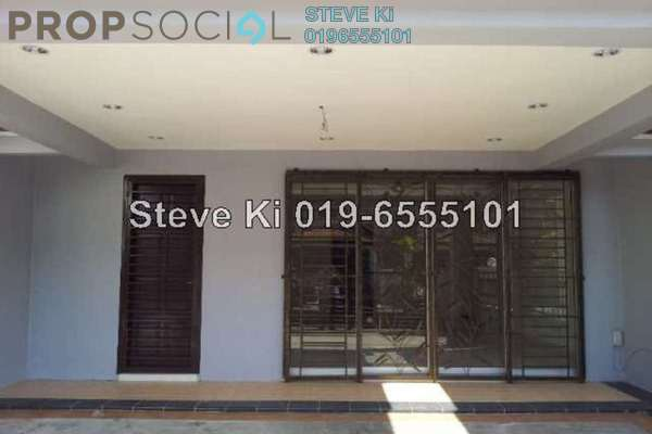 For Sale Terrace at Kemuning Utama Bayu, Kemuning Utama Freehold Semi Furnished 3R/3B 950k