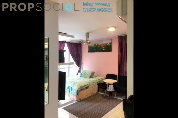 For Rent Serviced Residence at Casa Tiara, Subang Jaya Freehold Fully Furnished 0R/1B 2k