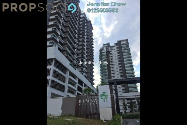 For Rent Condominium at Rimba Residence, Bandar Kinrara Freehold Semi Furnished 3R/2B 2.2k
