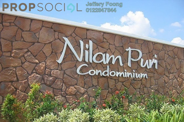 For Sale Condominium at Nilam Puri, Bandar Bukit Puchong Freehold Semi Furnished 3R/2B 430k
