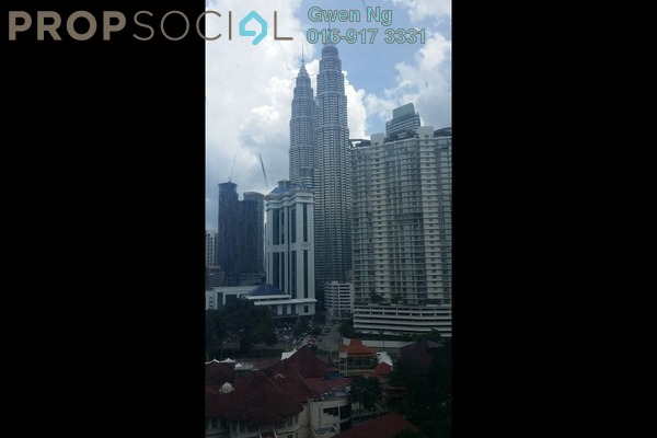For Sale Condominium at The Ritz-Carlton Residences, KLCC Freehold Semi Furnished 1R/1B 2.7m