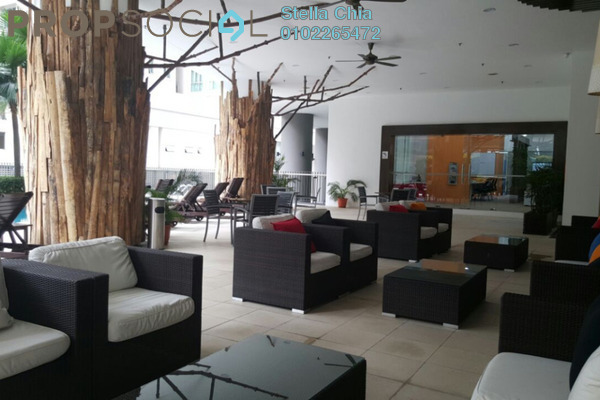 For Rent Condominium at Kirana Residence, KLCC Freehold Semi Furnished 3R/4B 6k