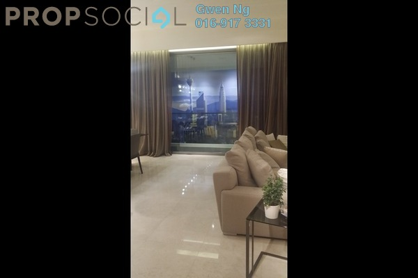 For Sale Condominium at The Sentral Residences, KL Sentral Freehold  5R/4B 3.77m