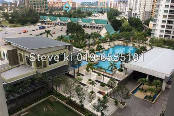 For Rent Condominium at Sterling, Kelana Jaya Leasehold Fully Furnished 3R/2B 2.5k