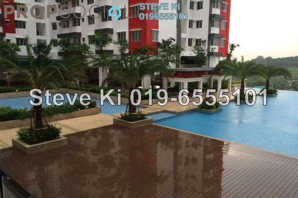 For Rent Serviced Residence at Main Place Residence, UEP Subang Jaya Freehold Unfurnished 1R/1B 1k