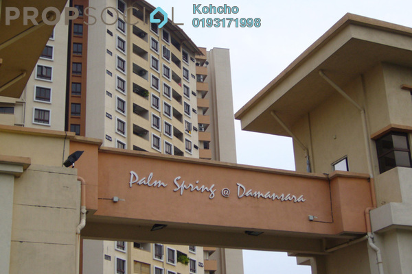 For Sale Condominium at Palm Spring, Kota Damansara Leasehold Fully Furnished 2R/2B 470k
