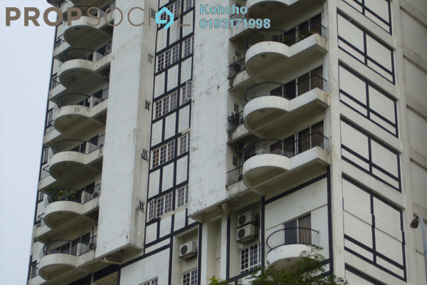 For Sale Condominium at Bukit Robson Condominium, Seputeh Freehold Fully Furnished 4R/3B 730k