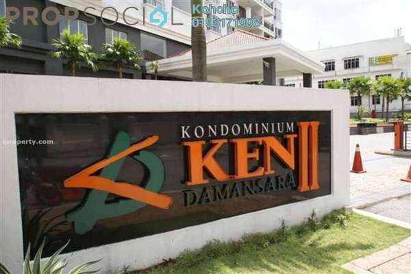 For Sale Condominium at Ken Damansara II, Petaling Jaya Freehold Fully Furnished 3R/2B 875.0千