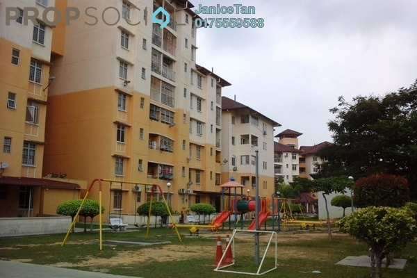 For Sale Condominium at Bayu Villa, Klang Freehold Semi Furnished 3R/2B 248k