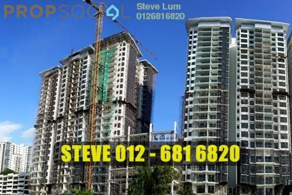 For Sale Condominium at Taman Kuchai Jaya, Kuchai Lama Leasehold Unfurnished 2R/2B 550.0千