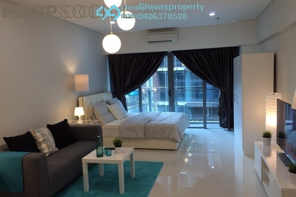 For Rent Condominium at Summer Suites, KLCC Leasehold Fully Furnished 0R/1B 1.9k
