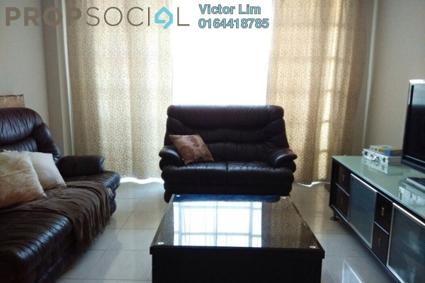 For Sale Condominium at Sterling, Kelana Jaya Leasehold Semi Furnished 4R/2B 780k