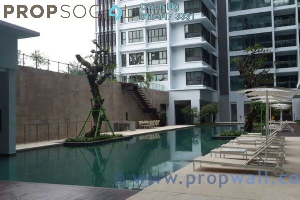For Rent Condominium at Sastra U-Thant, Ampang Hilir Freehold Fully Furnished 3R/2B 11k