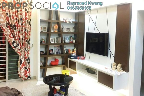 For Sale Condominium at Aman Heights, Seri Kembangan Freehold Semi Furnished 3R/2B 495k