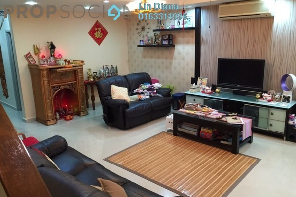 For Sale Terrace at Section 8, Bandar Mahkota Cheras Freehold Semi Furnished 4R/3B 650k