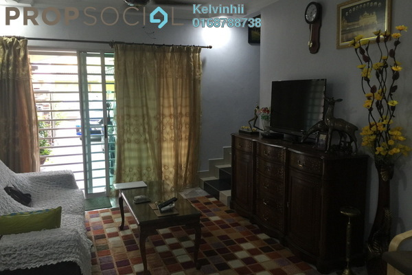 For Sale Terrace at Taman Damai Impian 1, Bandar Damai Perdana Freehold Semi Furnished 3R/4B 650.0千