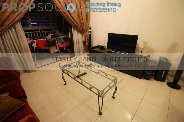 For Sale Apartment at Pelangi Utama, Bandar Utama Leasehold Semi Furnished 3R/2B 750k