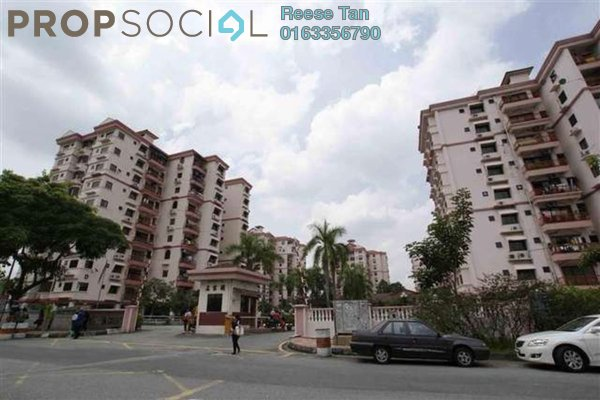 For Sale Apartment at Sri Manja Court, PJ South Leasehold Fully Furnished 3R/2B 425k