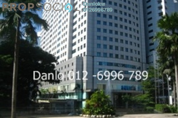 For Rent Office at Wisma UOA II, KLCC Freehold Fully Furnished 1R/1B 7.6k