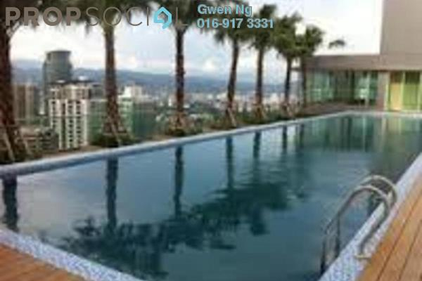 For Rent Condominium at Vipod Suites, KLCC Freehold Fully Furnished 1R/1B 3.9k