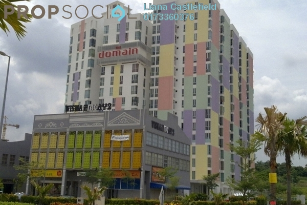 For Sale Condominium at The Domain, Cyberjaya Freehold Unfurnished 3R/2B 269k