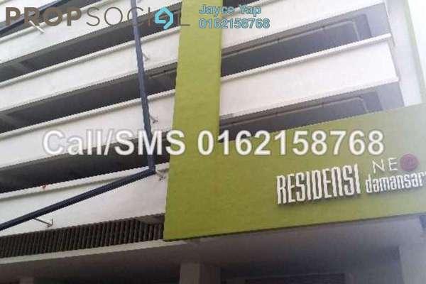 For Rent SoHo/Studio at Neo Damansara, Damansara Perdana Leasehold Unfurnished 1R/1B 1.8k