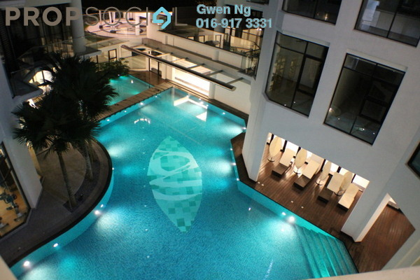 For Rent Condominium at Gallery U-Thant, Ampang Hilir Freehold Semi Furnished 6R/5B 18k
