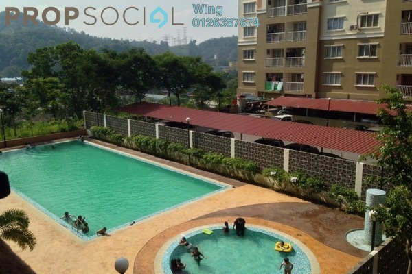 For Rent Apartment at Lakeview Apartment, Batu Caves Leasehold Unfurnished 3R/2B 850translationmissing:en.pricing.unit