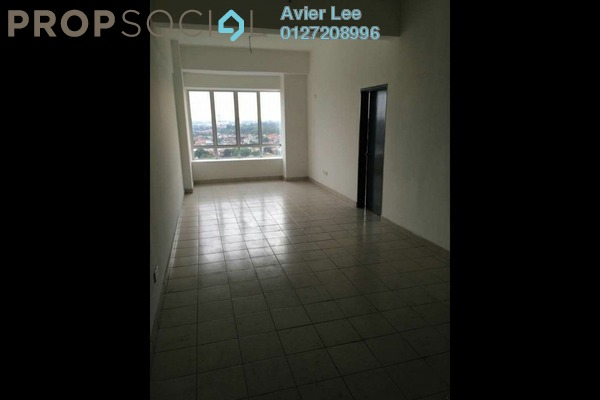 For Rent Apartment at Palm Gardens, Johor Bahru Freehold Unfurnished 3R/2B 1.2k