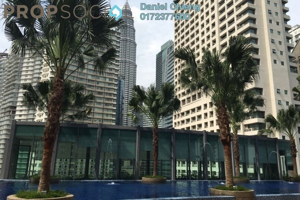 For Rent Condominium at Vortex Suites & Residences, KLCC Freehold Semi Furnished 2R/2B 4.3k