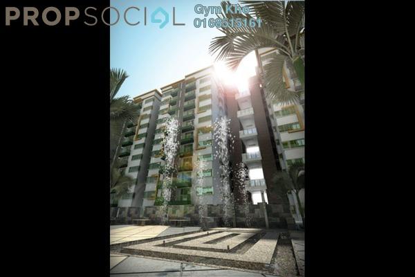 For Rent Condominium at Hijauan Saujana, Saujana Freehold Semi Furnished 3R/2B 1.8k