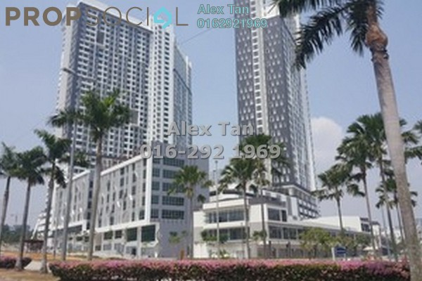 For Sale Condominium at CyberSquare, Cyberjaya Freehold Semi Furnished 1R/1B 310k